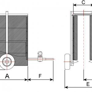 Pulvérisateurs TUNNEL modèle OSG-N1 pour arboriculture